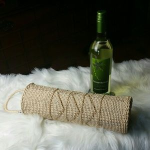 Woven Wine Carrier